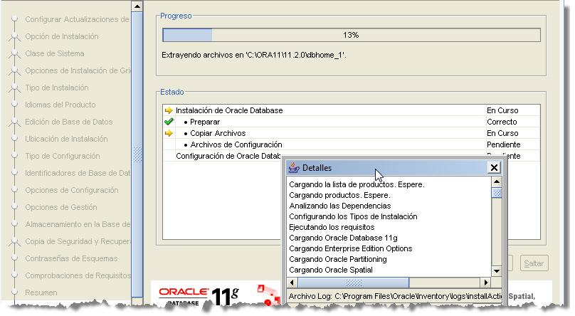 SONAR Install Oracle Screen22