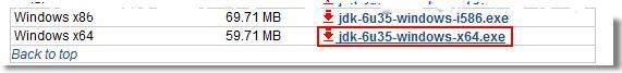 SONAR JDK 32 ou 64 bits