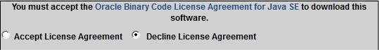 Sonar Intall JDK Licence