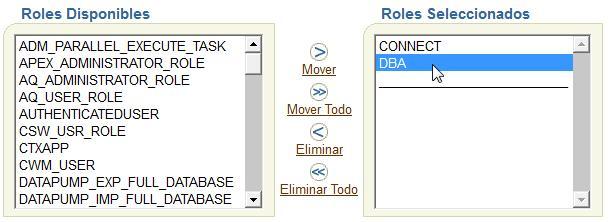 Installer Sonar  - Créer un user Oracle avec les droits DBA