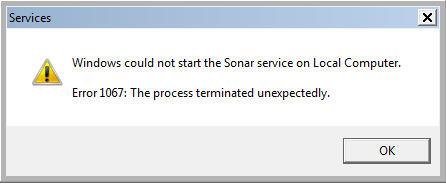 Sonar_ServiceLaunchError2