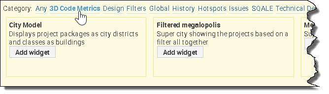 SonarQube_3DMegapolis_SelectWidget